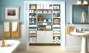 Storage Ideas Bathroom 28 Bathroom Closet Storage Ideas Bathroom Storage Over The