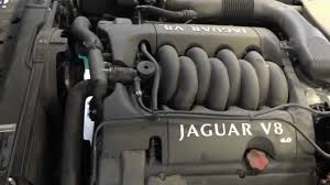 2001 jaguar xj8 engine with 44k miles youtube