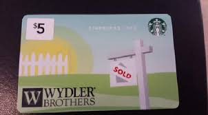 branded gift cards branded starbucks cards keeping agents top of mind