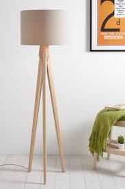 zach tripod floor lamp free standard delivery bhs