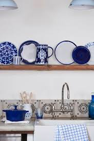 Blue And White Kitchen 182 Best Blue U0026 White Decor Images On Pinterest Blue And White