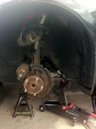 nissan altima 2005 specs 2006 nissan altima 2 5s front wheel bearing removal youtube