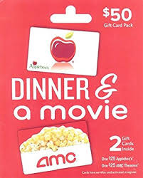 applebee s gift cards applebee s amc dinner a multipack of 2