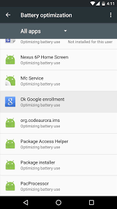 android optimizing app android basics how to disable doze app standby for individual
