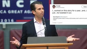 Donald Meme - the reporter who got scooped by donald trump jr is already a meme