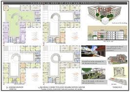 drug rehabilitation center floor plan juvenile correction and rehabilitation centre on behance