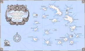 Caribbean Maps by Archipelago Map Addon Pirates Of The Caribbean New Horizons Mod