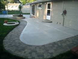 Patio Paver Installation Cost Patio Ideas Concrete Patio Cost Paver Patio Designs And Patio