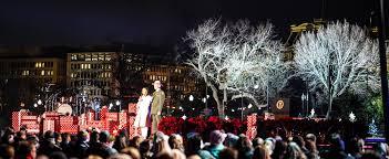 photos national tree lighting ceremony washington dc