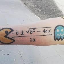 20 equation tattoos on forearm