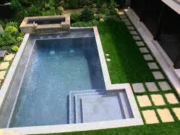 mid century modern landscaping with pool desert modern garden ideas