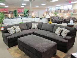 Sectional Sofa Pillows Decorating Using Tremendous Oversized Couch For Lovely Living