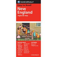 Portland Me Map by Rand Mcnally Folded Map New England