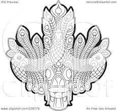 Sri Lanka Map Blank by Royalty Free Rf Clipart Illustration Of A Coloring Page Outline