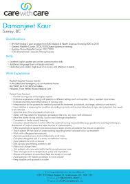 Caregiver Experience Resume Resume Setup Examples