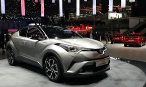 toyota chr interior toyota c hr crossover revealed with prius power autoguide com news