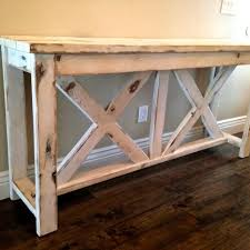 Farmhouse Side Table Restoration Coffee Console Tables