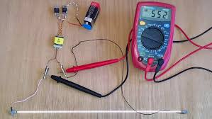 ccfl on a 9 volt battery at 600 volt output schematic diagram in
