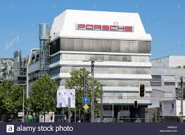 porsche headquarters stuttgart diesel cart stock photos u0026 diesel cart stock images alamy
