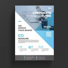 technical brochure template modern corporate flyer template psd file free
