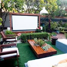 Backyard Theater Ideas Best 20 Outdoor Theater Ideas On Pinterest Outdoor Screen