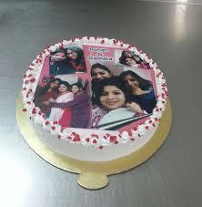 photo cake online shape pineapple photo cake delivery in delhi noida