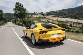ferrari yellow car ferrari 812 superfast 2017 review by car magazine