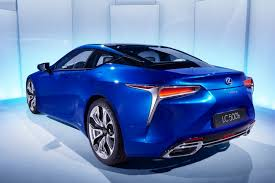 new lexus hybrid coupe lexus publishes new lc 500h images
