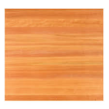 dining table tops square solid cherry butcher block dining top
