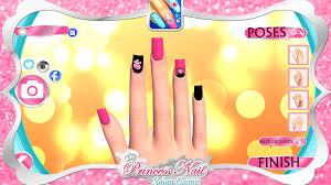 princess nail salon game android apps on google play