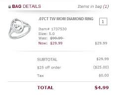 helzberg black friday 25 off 25 coupon code for helzberg diamonds mom rings as low