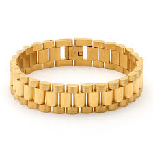 gold bracelet rolex images 15mm stainless steel gold rolex link bracelet men 39 s bracelets jpg