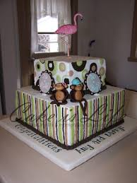 monkey baby shower cake baby shower cakes cake is