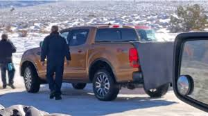 2019 ford ranger spy shots and video looks like the new ford ranger is already off roading in moab