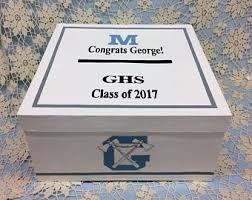 Unique Graduation Card Boxes Graduation Card Box Etsy