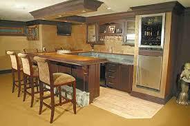 basement kitchens ideas basement kitchen and bar ideas home bar design