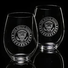 white house stemless cabernet merlot wine glass set