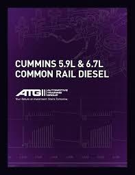 cummins 5 9l u0026 6 7l common rail diesel