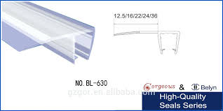 Plastic Strips For Shower Doors Glass Shower Door Seal Moutard Co