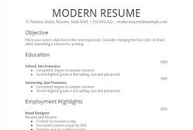 basic resume template download word resume easy simple resume template