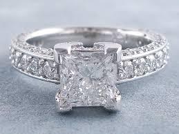 diamonds rings ebay images 3 00 ctw princess cut diamond engagement ring e si2 gif