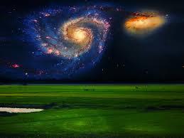 whirlpool galaxy artstation cosmic art ядjjiб ħдssди