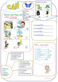 can for kids worksheet free esl printable worksheets made by