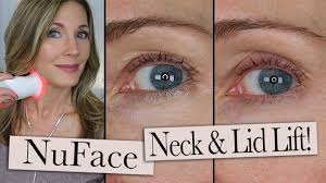 nuface trinity red light reviews nuface trinity ele wrinkle reducer review eyelid lift neck