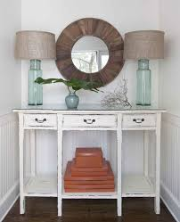 Entryway Tables And Consoles Adorable Distressed Entryway Table And Distressed Console Table