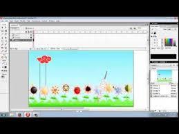 membuat web interaktif tutorial membuat presentasi dengan macromedia flash 8 youtube