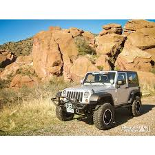 cj jeep lifted rugged ridge 11540 18 rrc mount xhd modular front bumper 76 15