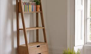 coaster 4 drawer ladder style bookcase bookcase coaster open bookcase display shelves in distressed wood