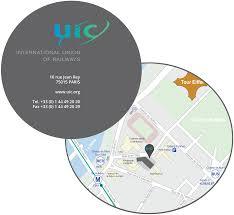 Uic Map Uic P Espaces Congrès
