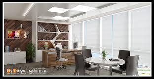 Modern Cabin Interior by Office Cabin Interior Design